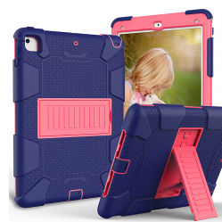 Couleur double tablette PC couvre le cas avec support de tablette support pour iPad mini housse 9.7/10.2/11/T387 T290 de l'onglet Samsung A8.4 2020