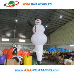 Custom надувные снежную бабу воздуха небо танцора танцовщица для продажи