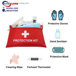 최고의 판매 안티바이러스 블록 응급처치 의료 소독 키트 보호 제품