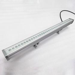 알루미늄 18W 24W 36W LED 벽 와셔 라이트 실외용 건물 조명 가로방향 스트립 램프