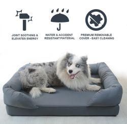 Venta caliente cama para Mascotas Mascotas criadero de perros de peluche Mat Golden Retriever Criadero de gatos de calidad de exportación pueden ser removidos y lavados