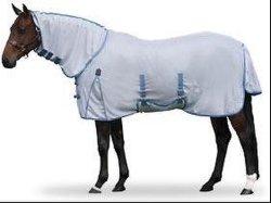 Malha aerada branco Folha Mosca Verão Horse Produto (Arm3207)
