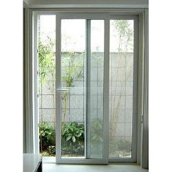Portelli scorrevoli di vetro di alluminio