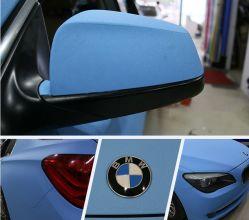 Ondis 1,52*28m синий высокой Мэтт Блестящие цветные лаки Car обвязка пленка виниловая пленка