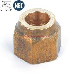 急に造られたナット3/8*1/4を減らす真鍮の火炎信号