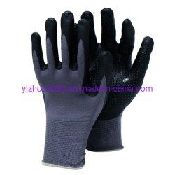 Qualitäts-Öl-beständiges Sicherheits-Arbeits-en 388 3131 Mikroschaumgummi-Nitril-Palmen-überzogener Handschuhespandex-Nylonzwischenlage-Handschuhe