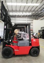 Nissan K21 엔진이 장착된 2톤 LPG/가스/가솔린/가솔린 지게차 카운터밸런스