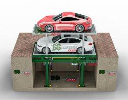 Автомобиль уровня 2 и 3 тройных подземная парковка поднять 2/3 системы парковки легковых автомобилей