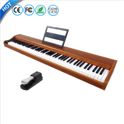 Портативный 88 клавиш стандартной клавиатуры сенсорного экрана используется электронный для продажи MIDI цифровых фортепиано