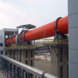 Große Kapazitäts-horizontaler kalzinierter Magnesit-Kalziumaluminat-Lehm-Kalk-Drehtrommel-Brennofen