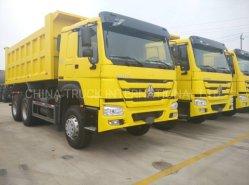 Cnhtc HOWO A7 6X4 치퍼 트럭 덤프 트럭