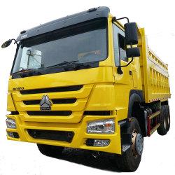 شاحنة تفريغ جديدة عالية الجودة مستعملة رخيصة سعر شاحنة تفريغ شاحنة تفريغ من زيت HOWO 6X4 للبيع