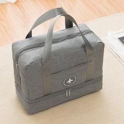 Складные выходные Спортивный отдых на открытом воздухе деловой поездки спортзал Duffel багаж женская сумка для переноски
