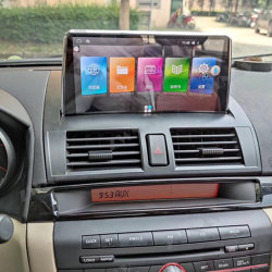 De androïde Speler van 10.0 Auto DVD voor Mazda 3 GPS Auto van de Van verschillende media 2003-2009 van de Speler Registreertoestel van de Eenheid van de Navigatie het Hoofd Auto Stereo Radio