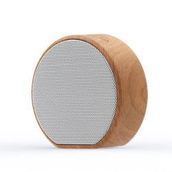 A60 Wood Grain 무선 Bluetooth 스피커 휴대용 미니 서브우퍼 O 스테레오 라우드스피커 지원 TF Aux USB