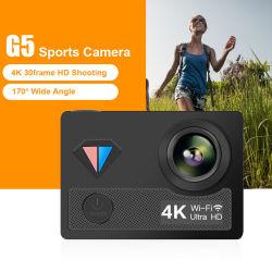 """G5 4K Ultra HD спортивных мероприятий на улице действий DV камера WiFi 1080P 2"""" экран ei 40m водонепроницаемый плавание на велосипеде по для записи видео видеокамеры"""