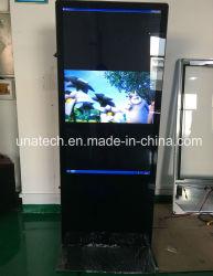 Double Côté médias publicitaires face deux Lecteur vidéo Kiosque de l'écran Écran LCD numérique