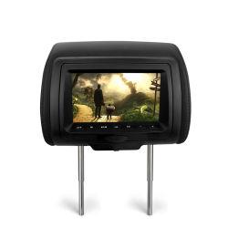 7.0 inch TFT LCD amovible Moniteur d'appui tête AV/ lecteur de DVD
