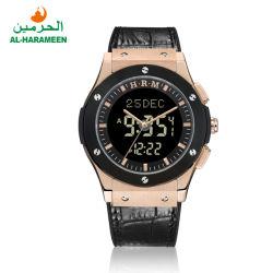 Al-Harameen islamische Azan Uhr Qibla Armbanduhr für moslemisches Gebet