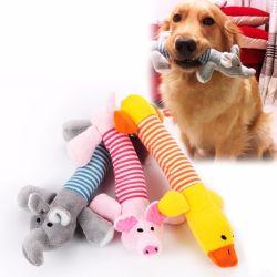 La masticazione dell'animale domestico del gatto del cane gioca gli accessori dell'animale domestico dei giocattoli del cane del morso del Vocalization di durevolezza
