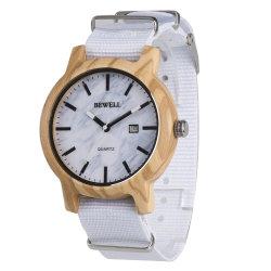 2020 het Nieuwe Horloge van de Giften van de Riem van het Leer Handcrafted van de Manier van de Levering van de Fabriek van het Ontwerp direct In het groot Houten