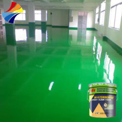 Barato Anti Slip resina epóxi à base de água tintas de revestimento de piso