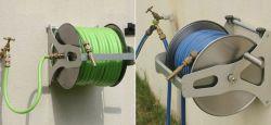 Enrolador do tubo de aço inoxidável para montagem na parede para jardim capacidade 40m
