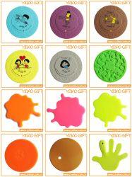 Günstige Silikon-Tasse Mat, Kaffee-Mat für Werbegeschenke (YB-CM-04)