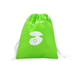 Reciclável personalizada Eco-Friendly de PP não tecidos tecidos/PP/Galpão/Nylon Saco para roupa suja de poliéster dom para a promoção