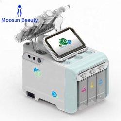 2020 China Microcurrent caliente Hydro dermoabrasión Facial Peeling multifunción de cuidado de piel de la terapia de oxígeno de la máquina de belleza piel