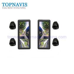 Système de caméra de sécurité de 12,3 pouces (E-miroir de rétroviseur) 1080P pour les bus