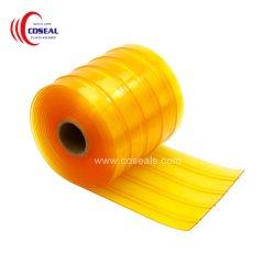 Super en plastique transparent TDC Windproof PVC les rouleaux de bande