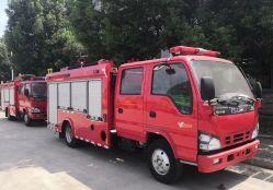 Isuzu Elf 2ton la extinción de incendios vehículo cisterna de 2.000 litros de agua de rescate de camiones de combate de incendios