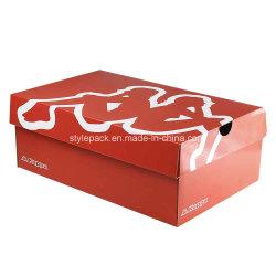 Высокая производительность печати бумажных упаковочных материалов Corruagted обувь в салоне