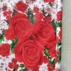 Matériau textile polyester Tissu