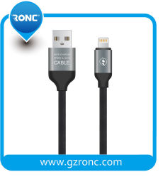 Handy-Gummidaten 5V/2.4A USB-Kabel für iPhone