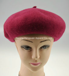 Zachte Dame Promotional Wool Beret Hat (HY18062203/HY18062206)