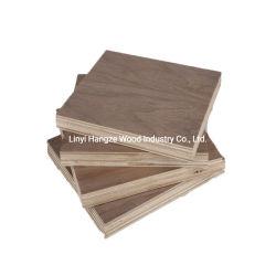 Natürliches des Teakholz-HDF Holz-Furnier Tür-Haut-schwarze Walnuss MDF-des Blatt-4*8 FT des Furnierholz-3mm