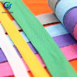 Оптовая торговля 100% хлопок Satin предвзятости обязательного шнур ленты