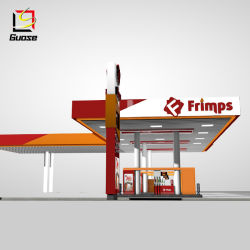 Estação de gás Signage Sinal Pylon personalizados LED Gás Preço Gasolina Assinar Exibir