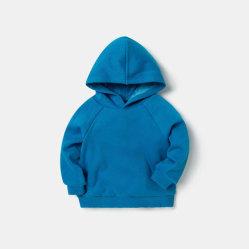 Color sólido Sudaderas Ropa de niños Baby Boy Logotipo personalizado sudaderas con capucha