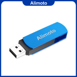 La torsion métallique personnalisé lecteur Flash USB 1 Go USB 2.0