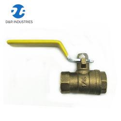 1/4'' Трубопроводы управления латунный шаровой клапан для воды, шаровой клапан (DR1050)