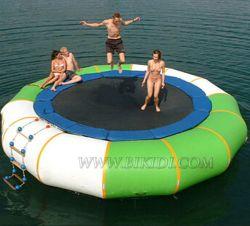 膨脹可能なジャンパー、膨脹可能な水トランポリン、膨脹可能な水公園または膨脹可能な浮遊水公園