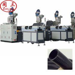 PE, PP, EVA, PVC, PA tubo corrugato a parete singola ad alta velocità linea di estrusione tubo/parete singola linea di produzione tubo da Qingdao Tongsan