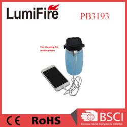 LED piscando Lanternas Camping Solar Lâmpada para caminhadas, pesca, camping, emergências à prova colapsável