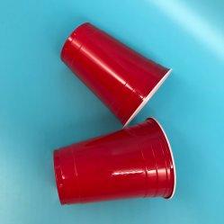 Beschikbare Rode Plastic PS Kop 16oz