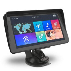 """7 """" HD容量性車GPSの運行Windowsのセリウム6.0のMs2531皮質A7 256m 8g 2100mA車の運行GPS"""