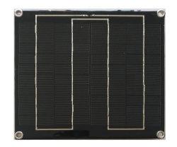 5W 18V Painel Solar de epóxi com chapa traseira do PCB do FR4
