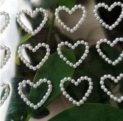 فرقعة قلب جديدة صغيرة [سلف-دهسف] قلب لؤلؤة لاصق لأنّ [سكرببووكينغ] يومية متحرّك عرس [فلنتين] هبات بطاقات [ديي] ورقيّة